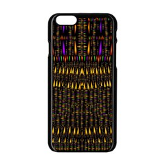 Hot As Candles And Fireworks In Warm Flames Apple Iphone 6/6s Black Enamel Case
