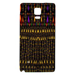 Hot As Candles And Fireworks In Warm Flames Galaxy Note 4 Back Case