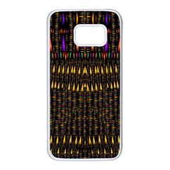 Hot As Candles And Fireworks In Warm Flames Samsung Galaxy S7 White Seamless Case