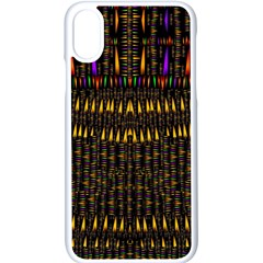 Hot As Candles And Fireworks In Warm Flames Apple Iphone X Seamless Case (white)