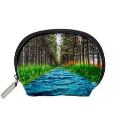 River Forest Landscape Nature Accessory Pouches (small)