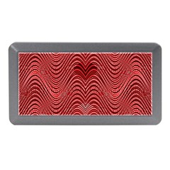 Red Wave Pattern Memory Card Reader (mini)
