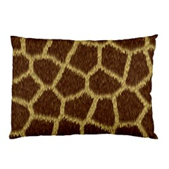 Background Texture Giraffe Pillow Case (two Sides)