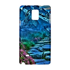 Pathway Nature Landscape Outdoor Samsung Galaxy Note 4 Hardshell Case