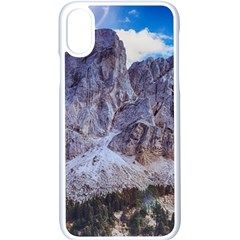 Rock Sky Nature Landscape Stone Apple Iphone X Seamless Case (white)
