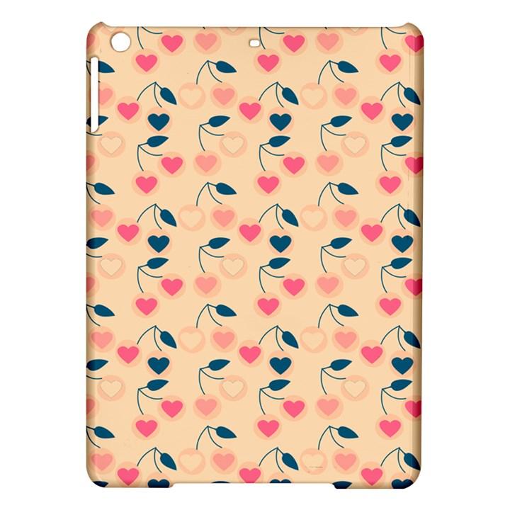 Heart Cherries Cream iPad Air Hardshell Cases