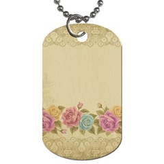 Shabby Country Dog Tag (one Side)