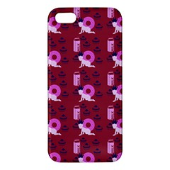 Punk Baby Red Apple Iphone 5 Premium Hardshell Case