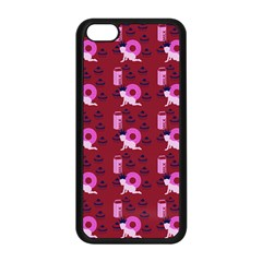 Punk Baby Red Apple Iphone 5c Seamless Case (black)