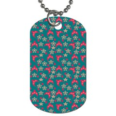 Teal Hats Dog Tag (one Side)