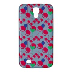 Bubblegum Cherry Blue Samsung Galaxy Mega 6 3  I9200 Hardshell Case