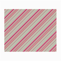 Candy Diagonal Lines Small Glasses Cloth (2 Side)