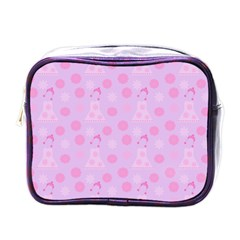 Lilac Dress Mini Toiletries Bags