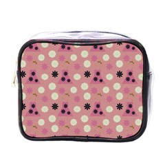 Mauve Dress Mini Toiletries Bags