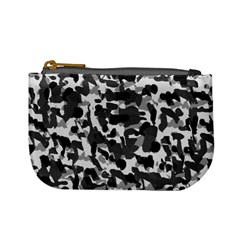 Grey Camo Mini Coin Purses