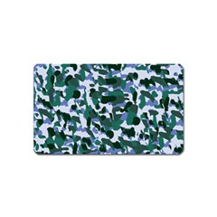 Blue Camo Magnet (name Card)