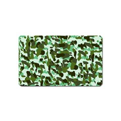 Green Camo Magnet (name Card)
