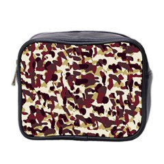 Red Camo Mini Toiletries Bag 2 Side
