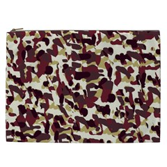 Red Camo Cosmetic Bag (xxl)