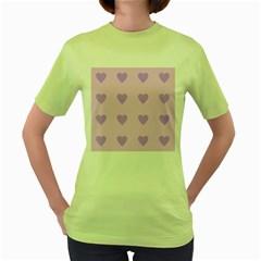 Violet Heart Women s Green T Shirt
