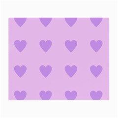 Violet Heart Small Glasses Cloth (2 Side)
