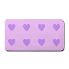 Violet Heart Medium Bar Mats