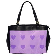 Violet Heart Office Handbags