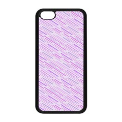 Silly Stripes Lilac Apple Iphone 5c Seamless Case (black)