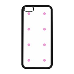 Pink Dots Apple Iphone 5c Seamless Case (black)