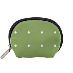 Olive Dots Accessory Pouches (small)