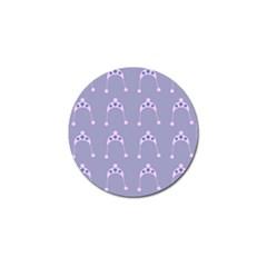 Pink Hat Golf Ball Marker