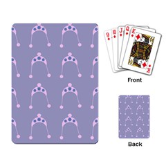 Pink Hat Playing Card