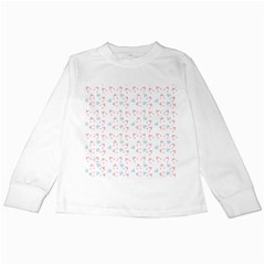 Pink Hats Kids Long Sleeve T Shirts