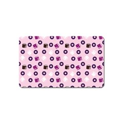 Pink Donuts Magnet (name Card)