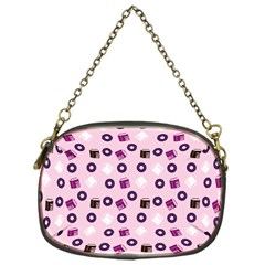 Pink Donuts Chain Purses (one Side)