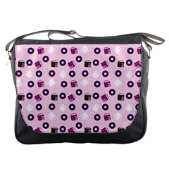 Pink Donuts Messenger Bags