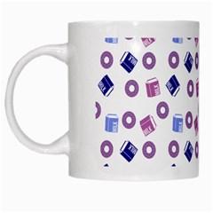 Milk And Donuts White Mugs