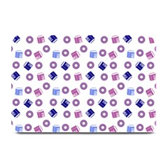 Milk And Donuts Plate Mats