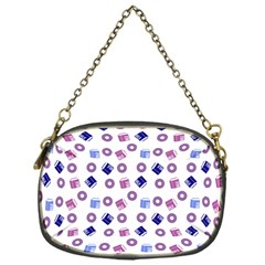 Milk And Donuts Chain Purses (one Side)