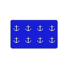 Royal Anchors Magnet (name Card)