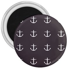 Grey Anchors 3  Magnets