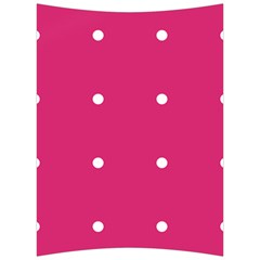 Small Pink Dot Back Support Cushion