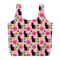 Outside Cats Full Print Recycle Bags (l)