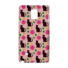 Outside Cats Samsung Galaxy Note 4 Hardshell Case