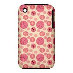 Cream Retro Dots Iphone 3s/3gs
