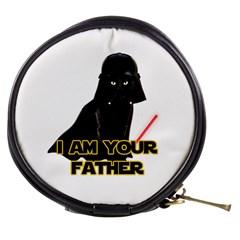 Darth Vader Cat Mini Makeup Bags