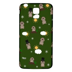 Groundhog Day Pattern Samsung Galaxy S5 Back Case (white)