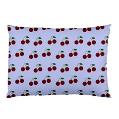 Blue Cherries Pillow Case (two Sides)