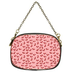 Rose Cherries Chain Purses (one Side)