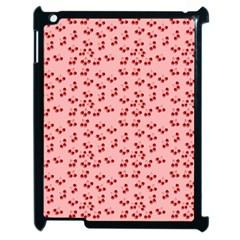 Rose Cherries Apple Ipad 2 Case (black)